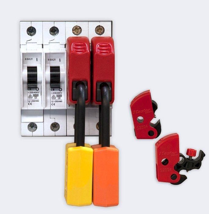 Master Lock S2394 Tool Free Universal Miniature Breaker
