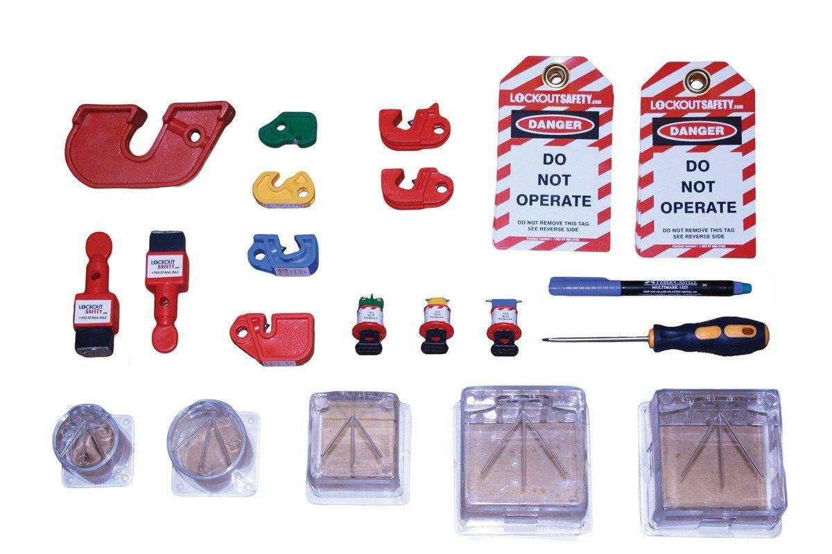 Lockout Safety Group Electrical Lockout Kit