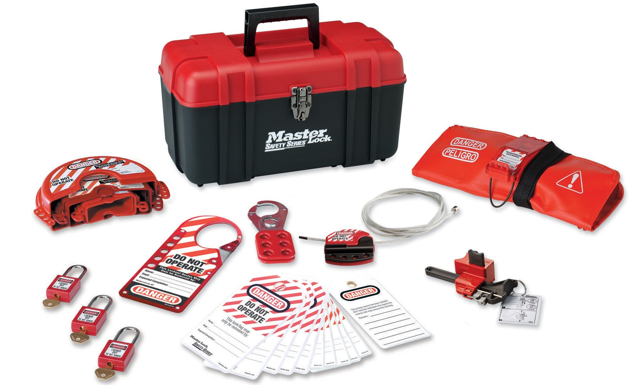 Master Lock 1457V410KA Personal Valve Lockout Kit
