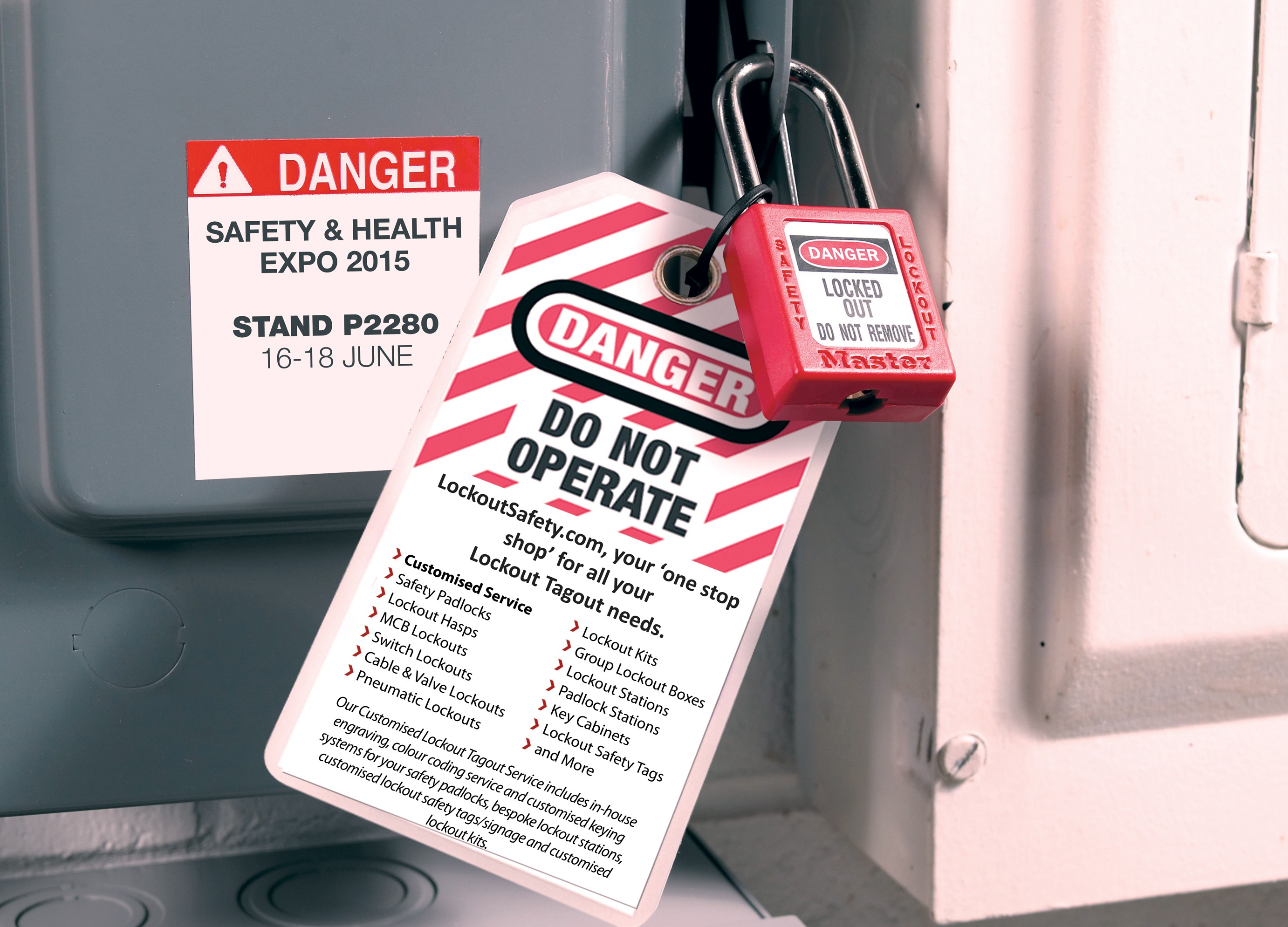 Lockout Safety @ Safety and Health Expo 2015