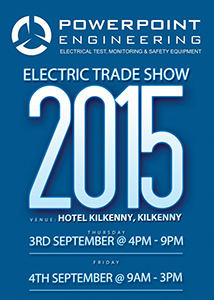 AECI Electrical Trade Show 2015 Flyer