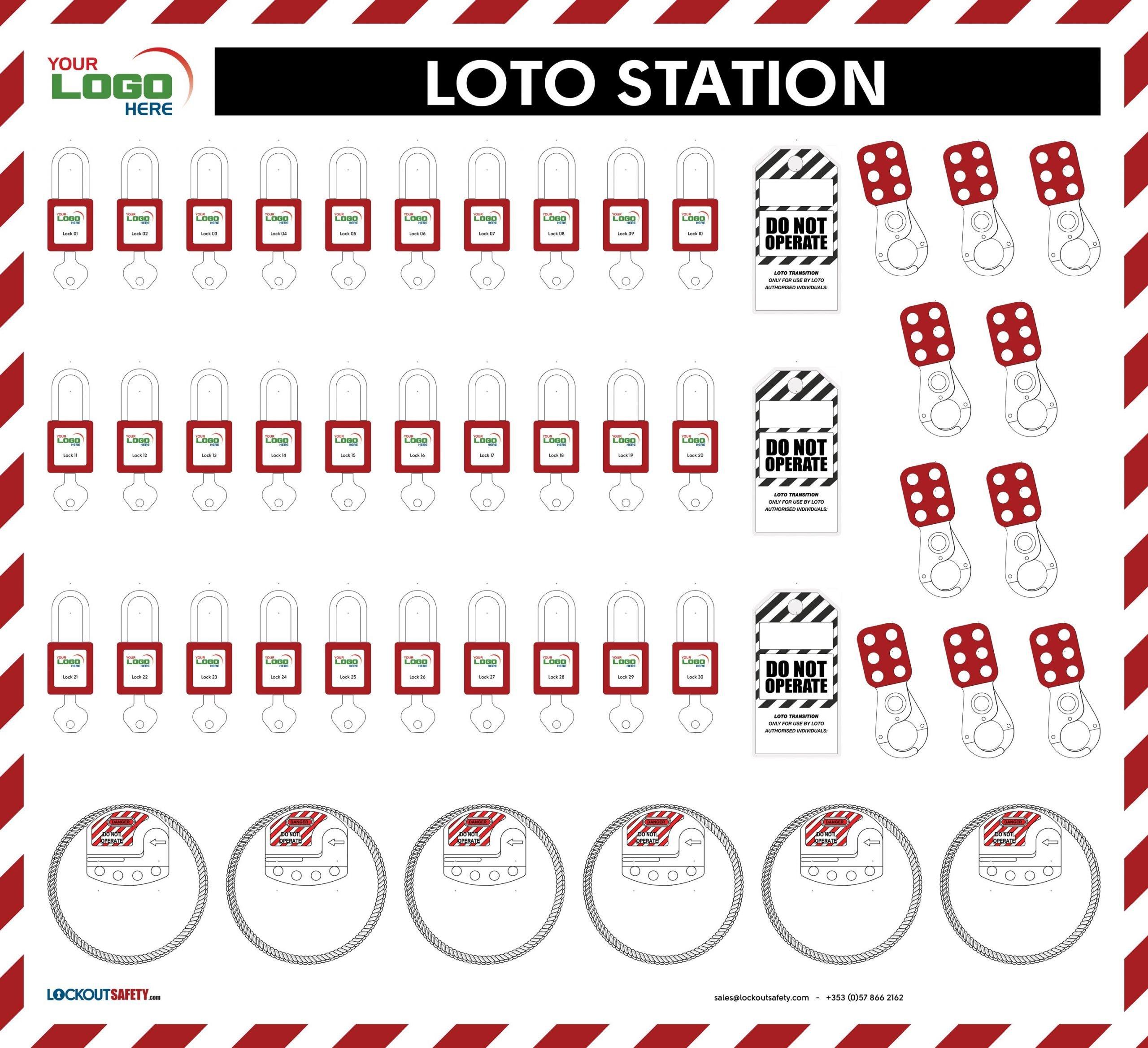 Lockout Station 3