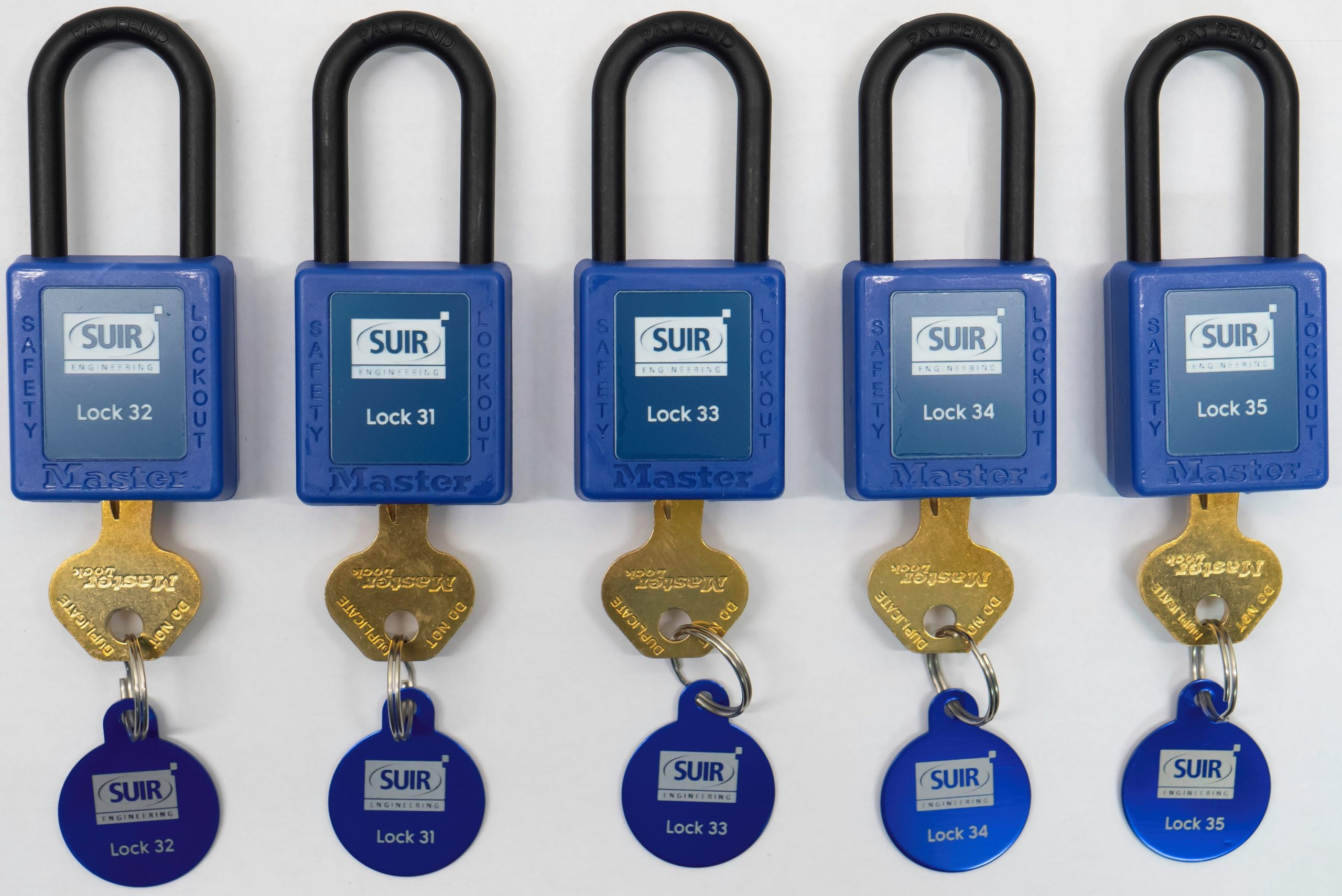 Safety Padlocks - Customise your own