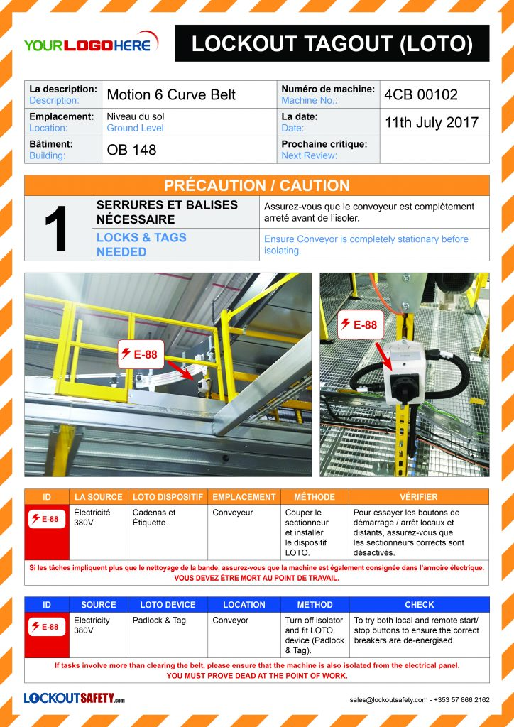 popular brand new products premium selection Customised LOTO Safety Signage - Lockout Safety.com